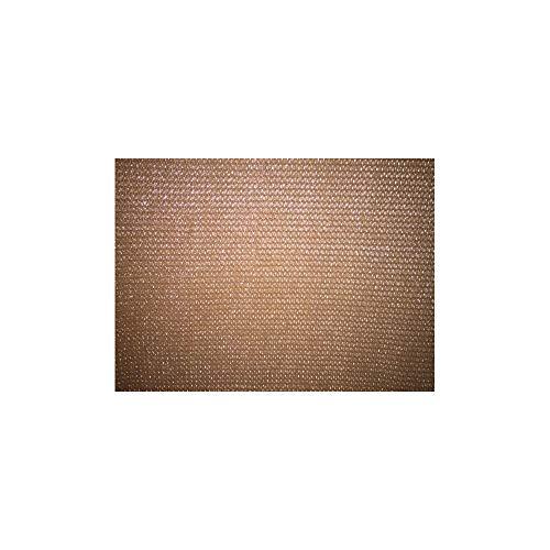 LONODIS Brise Vue Marron 230gr/m Pro Premium, Anti UV - Rouleau 25 m
