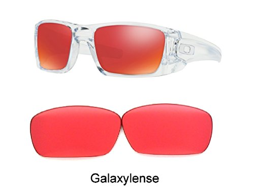 1d93f2d2f2e38f Galaxy Prizm Technology Replacement Lens For Oakley Fuel Cell Sunglasses  Ruby Golf Size  Regular