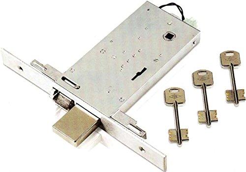 Serratura Elettrica da Infilare Feb Art. 6993 Misura 90 mm Frontale 25 mm 12v