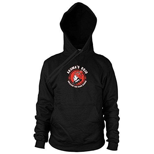 Kostüm Akuma Fighter Street X Tekken - Planet Nerd Akuma's Dojo - Herren Hooded Sweater, Größe: L, Farbe: schwarz