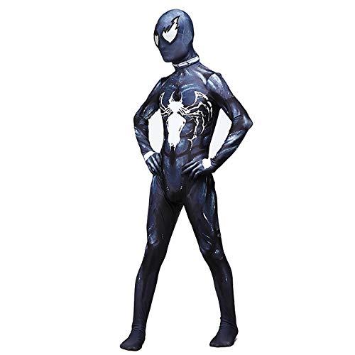 YXIAOL Spider-Man Superheld Cosplay Kostüm, Avengers Anime Charakter Kostüm, Halloween Karneval Kostüm, Erwachsener/Kind,Kid-S (Superhelden Charakter Kostüme)
