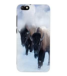 ColourCraft Yak Design Back Case Cover for HUAWEI HONOR 4X