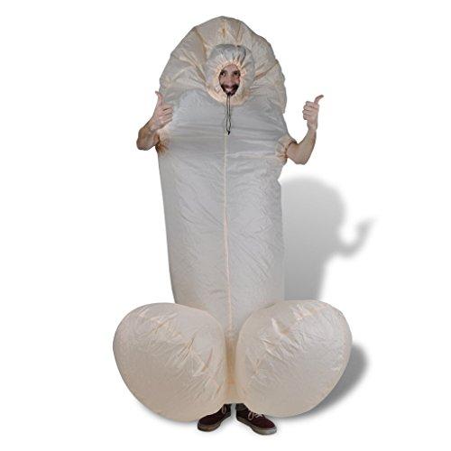 Kostüm Penis Faschingkostüm Karneval Penis-Kostüm Spaß Costume Verkleidung (Lustige Penis-kostüme)