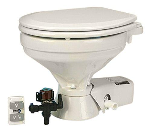 Jabsco Toilettenpumpe 37045Serie leise Flush elektrische WC-, EMV-, Süßwasser, 1bis 2Quarts Pro Flush, 37045-1094, Household Size Bowl
