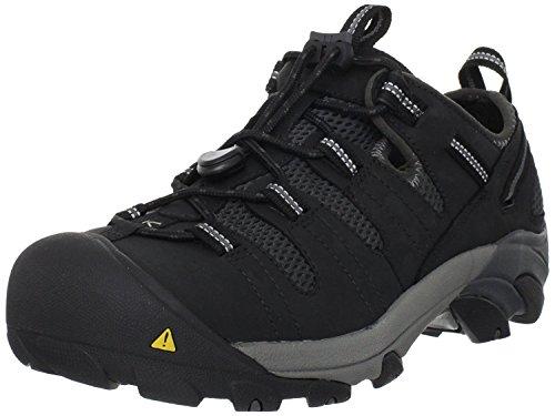 Keen Utility Men S Atlanta Cool Steel Toe Work Shoe Black