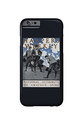 harpers-weekly-national-authority-on-amateur-sport-vintage-poster-artist-mp-usa-iphone-6-cell-phone-