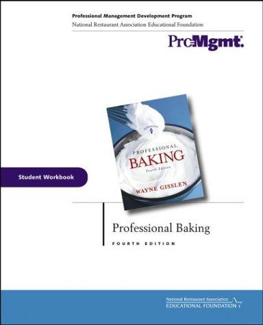Professional Baking: Student Workbook