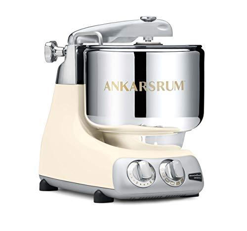 Ankarsrum 6230 CRL Assistent Original-AKM6230 Kitchen Machine-Creme Light (CL), 1500 W, 7 Litri, Alluminio, Crema Chiaro