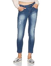 Symbol Amazon Brand Women's Low Waist Skinny Jeans