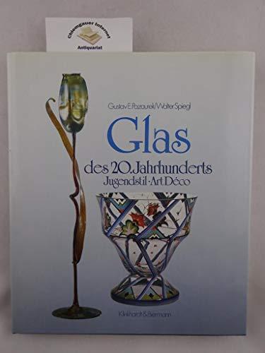 Glas des 20. Jahrhunderts. Jugendstil. Art Deco