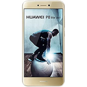 "Huawei P8 Lite - Smartphone libre de 5.2"" IPS LCD (3 GB RAM, 16 GB, cámara 12 MP, Android 7.0), color dorado"