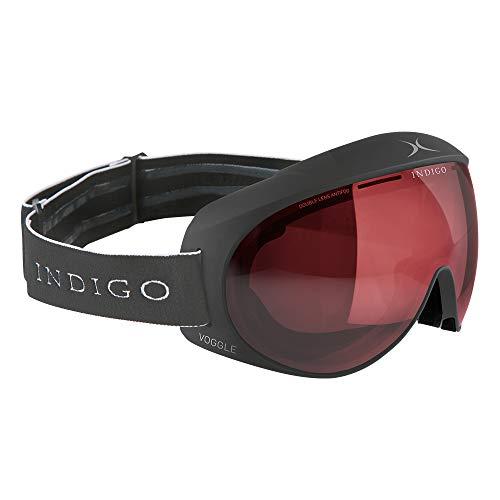 Indigo Voggle Photochromatic Polarized   Titan   Ski & Snowboard Brille   Hochwertige Qualität