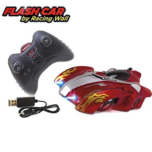 Flash Car by Racing Wall ferngesteuertes Wand-Auto mit LED-Scheinwerfer Flash Wall