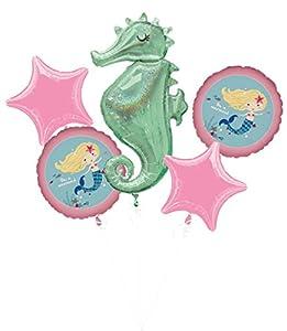 Amscan 3796001 Be a Mermaid - Globo de plástico