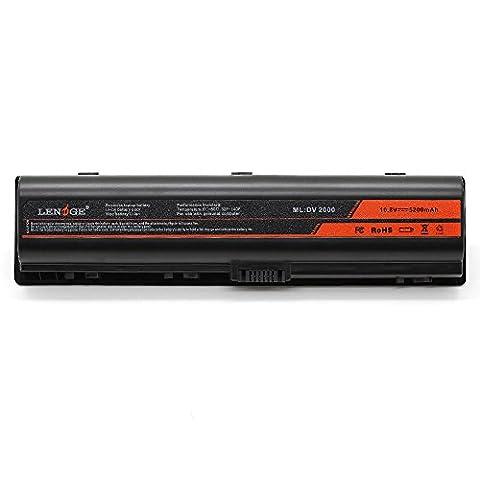 LENOGE (Imported Samsung Li-ion CELL) New Laptop Battery for HP Pavilion DV2000 DV2100 DV2500 DV2600 DV2700 DV6000 DV6000Z DV6500 DV6600 Series, 18 months warranty