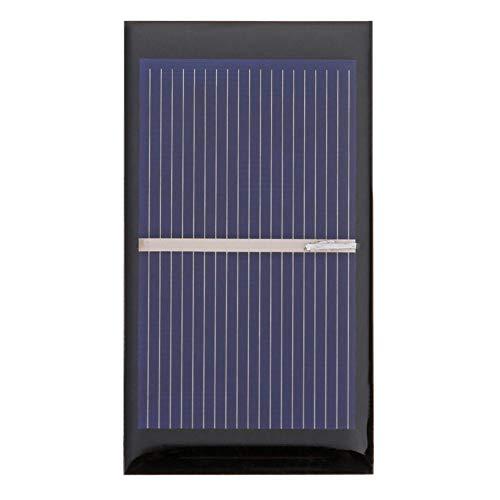 600mA Solarmodul Polykristalline Solar Panel DIY Ladegerät (1 stück) ()