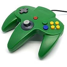 Childhood Retro clásico USB controlador Gamepad Joysticks N64 estilo para PC MAC verde