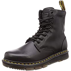 Dr. Martens Lexington 8-Eye, Bota para Hombre 43 Negro