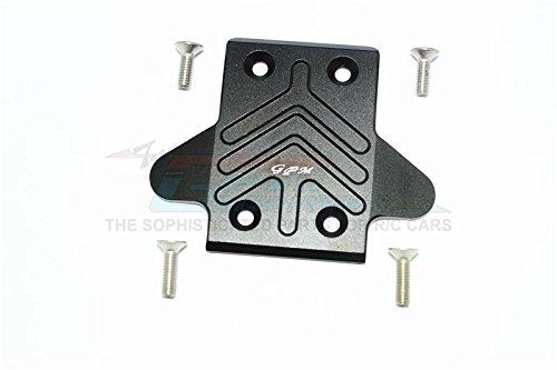 G.P.M. Arrma KRATON 6S BLX/OUTCAST 6S BLX Aluminum Front Chassis Protection Plate - 1Pc Set Black