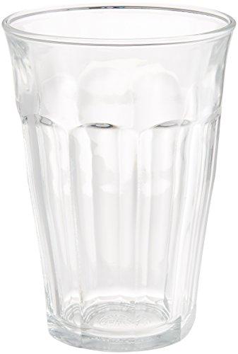Duralex Picardie Set de vasos, Vidrio, Transparente, 27.8x16.2x14.2 cm