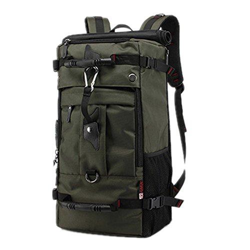 Imagen de 40l 50l impermeable  senderismo resistente grande trekking  para senderismo montañismo viajes deportes camping., 50 l