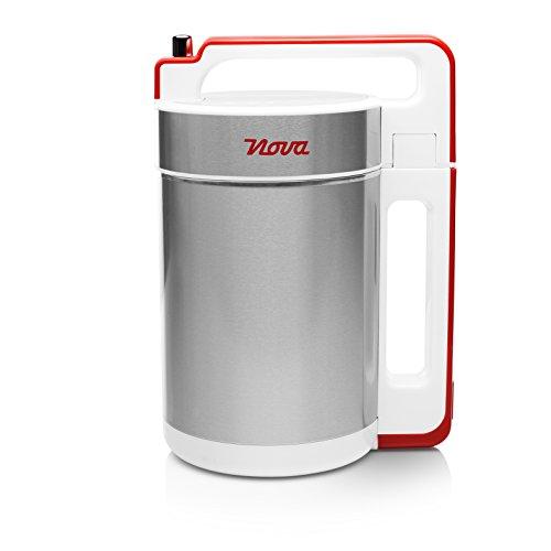 Nova 210310 - Licuadora y máquina para hacer sopa, batidos o salsas, capacidad 1.5 L, 200 W, acero...
