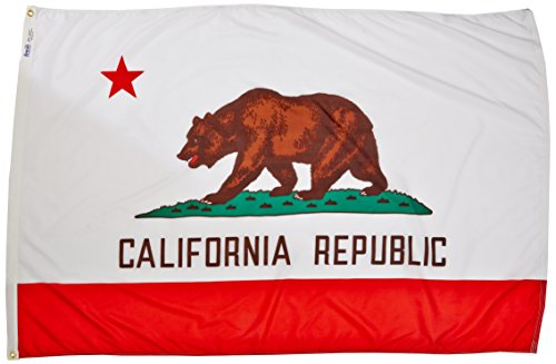 Annin Flagmakers California State Flag 4x6' Nicht zutreffend