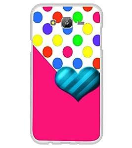 Fiobs Designer Back Case Cover for Samsung Galaxy A7 (2015) :: Samsung Galaxy A7 Duos (2015) :: Samsung Galaxy A7 A700F A700Fd A700K/A700S/A700L A7000 A7009 A700H A700Yd (Love Heart Symbol Pink)