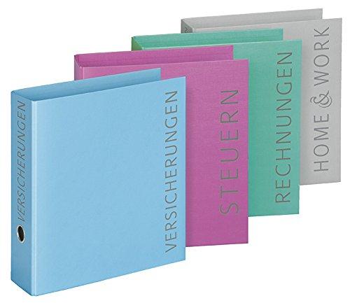 Veloflex 4142003 - Themenbriefordner DIN A4, 4 Farben und Themen