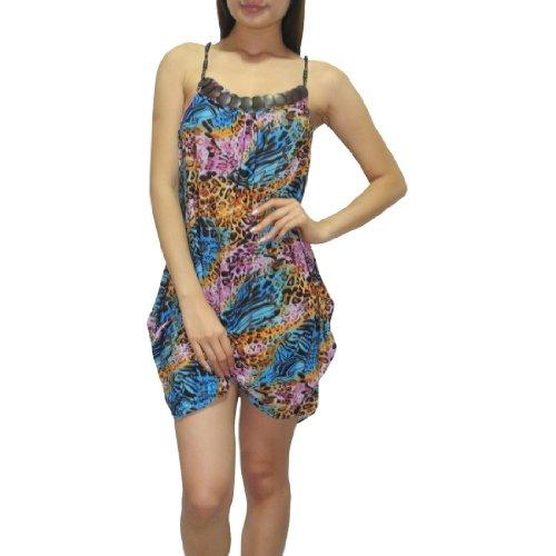 Unknown - Robe -  Femme Multicolore - Multicolore