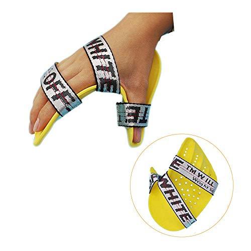 riposo stecca dito separatore mano brace destra media neuropatia estensione immobilizzatore corsa tastiera ortoterapia terapia riabilitazione per mano disfunzione arto tensione anormale (adestra)