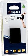 Digitek LP-E10 Camera Battery (Black)