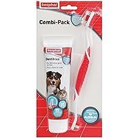 Beaphar Pasta dental para perro (100 g) con cepillo de dientes