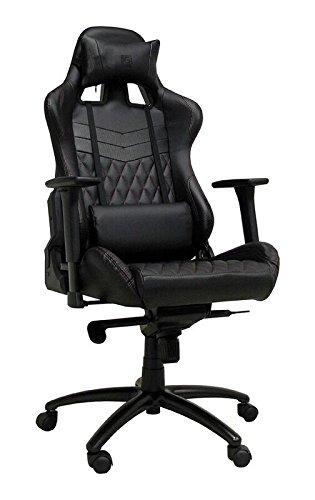 LC Power Gaming Stuhl LC-GC-3 schwarz/schwarz -