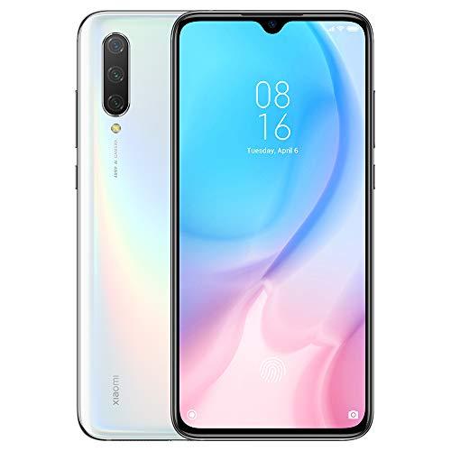 """Xiaomi Mi 9 Lite Teléfono 6GB RAM + 128GB ROM, Pantalla de Caída de Puntos de 6.39"""", Procesador Snapdragon 710 Octa-Core, 32MP Frontal y 48MP AI Cámara Trasera Triple Móviles Versión Global (Blanco)"""