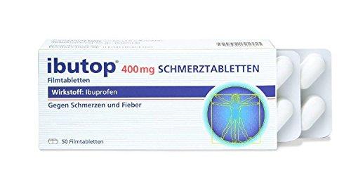 ibutop 400 mg Schmerztabletten Filmtabletten, 50 St