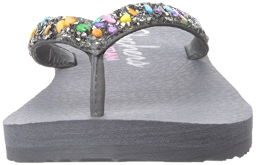 Skechers Meditation-Break Water, Flip Flop Donna Grigio (gymt)