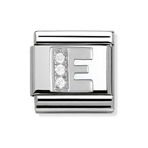 Composable Classic Stahl Cub zirc und 925 Silber E – Art.: 330301_05