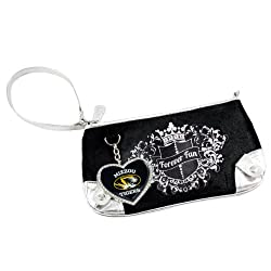 NCAA Missouri Tigers Sport Luxe Fan Wristlet