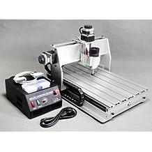 GOWE 220 V actualización de fresadora CNC Router grabador perforación máquina manual para cortar