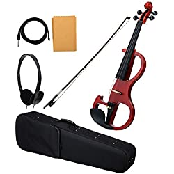 Classic Cantabile EV-90 violín eléctrico natural mate