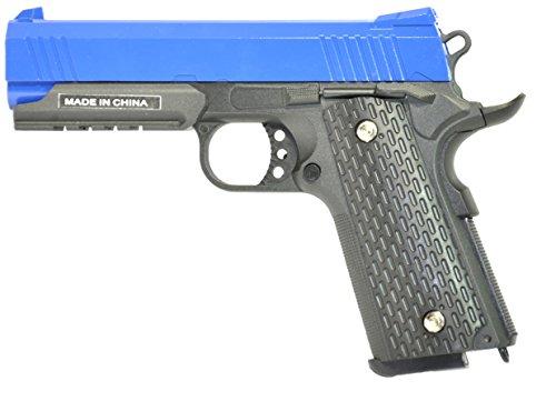 Pistola airsoft Galaxy G.25 negra metálica con funda . Calibre 6mm. Potencia 0,6 Julios ...