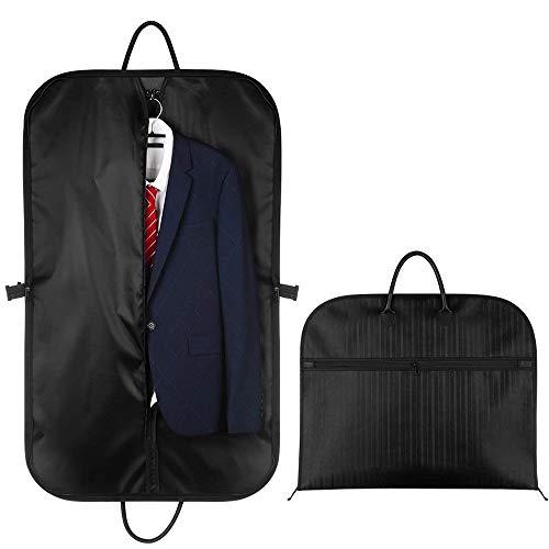Kleidersack Anzugtasche, 100 x 60cm Atmungsaktiver Reise Kleiderhülle mit Hochwertiges Wasserdichtes Material für Reisen Business -