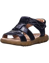 Sandalias de Punta Descubierta Niños, Verano Sandalias Infantiles Anti-deslizante Zapatos de Playa