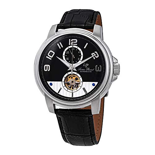 Lucien Piccard Open Heart Automatic Black Dial Men's Watch LP-28001A-01