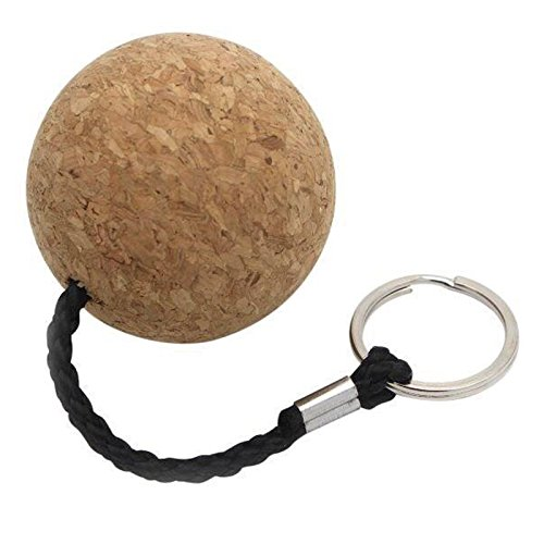 Savvy Shoppers Floating Cork Keyring for Boats 55mm Heavy Duty Ball for Keys and Boating Accessories (155mm x 55mm x 55mm)