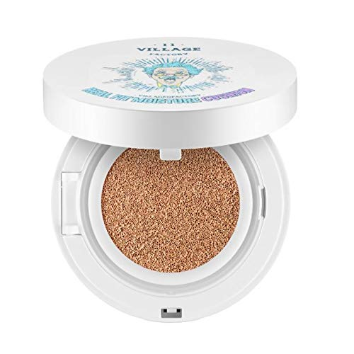 11 Village Factory, Real Fit Maquillaje Cushion SPF
