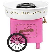 Bycws Cotton Candy Machine Máquina eléctrica de Grado alimenticio Segura Mini para Fiestas de cumpleaños de