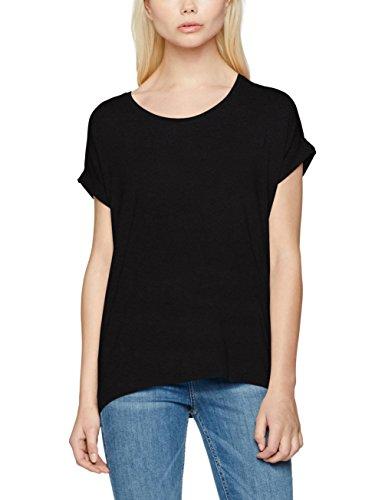 ONLY Damen T-Shirt onlMOSTER S/S O-Neck TOP NOOS JRS Schwarz Black, 44 (Herstellergröße: XXL)
