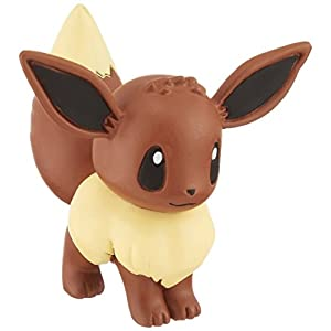 Takaratomy Pokemon Sun & Moon EX EMC-09 Mini Figura de acción, Eevee 6
